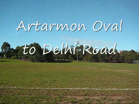 Artarmon Oval to Delhi Road
