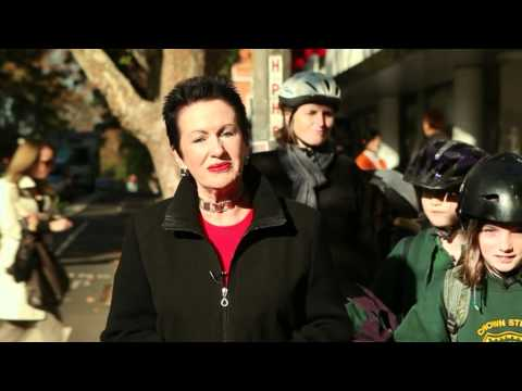 Clover Moore wins Award for Contribution by a Politician, Australian Bicycling Achievement Awards