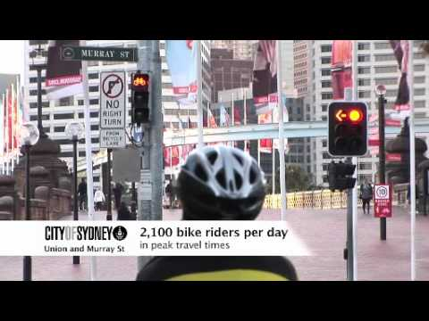 City of Sydney has 3 new cycleway usage videos