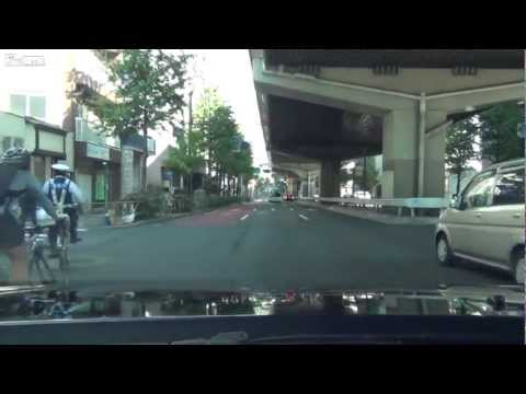 Bicycle police chase in Japan