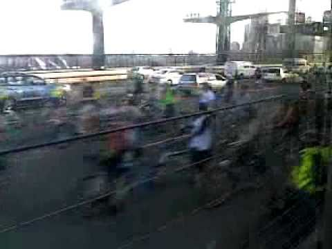 Critial Mass Bridge Ride 2010