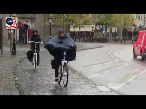 Utrecht (Netherlands), Cycling in the Rain