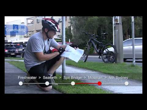 Northern Beaches to North Sydney using Cycleways
