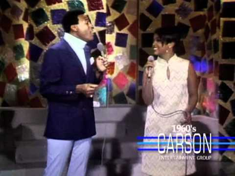 "Marvin Gaye & Tammi Terrell Sing ""Ain't No Mountain"" on ""The Tonight Show"" - Johnny Carson - 1960s"
