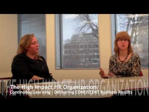 [Chicagoland Take-ways] The High-Impact HR Organization