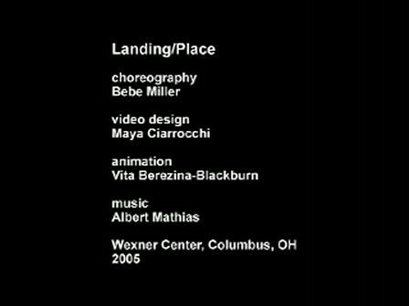 Langing/Place by Bebe Miller (excerpts)
