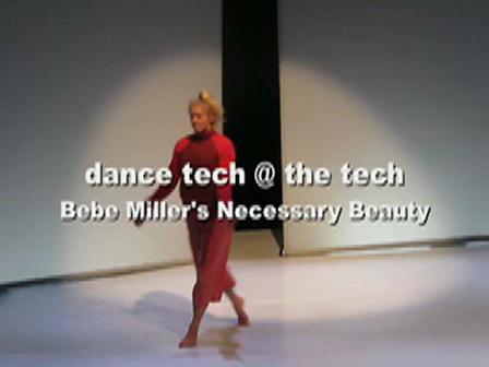 dance tech @ the tech: Necessary Beauty