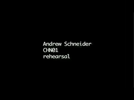 Andrew Schneider CHN01