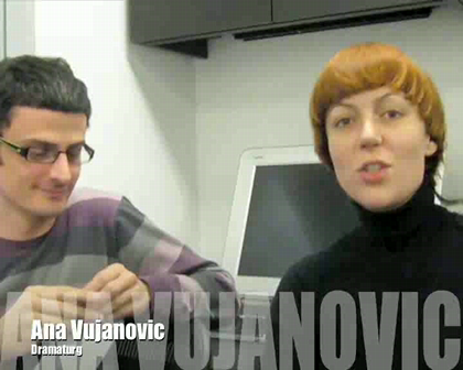Interview with Sasa Asentic and Ana Vujanovic