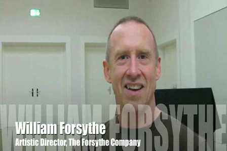 Interview with William Forsythe @ The Hellerau