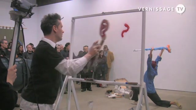 Dance Lecture: John Bock / Anton Kern Gallery, New York