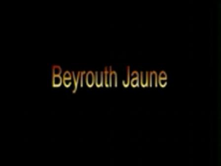 Beyrouth Jaune