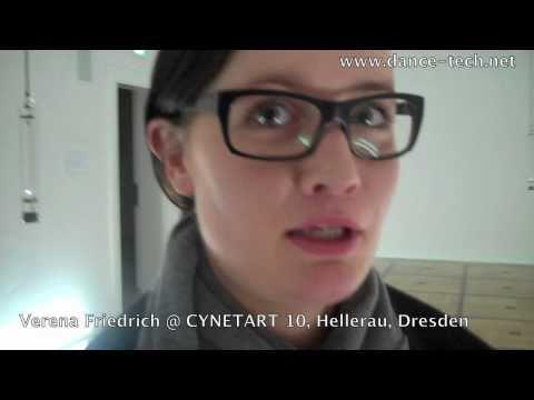 CYNETART 2010: Verena Friedrich  @Festspielhaus Hellerau