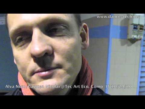 TEC ART ECO Festival: Alva Noto/ Carsten Nicolai (electronic musician),Como, Italy