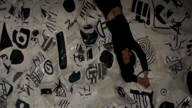"""Patrick K.-H. / Oleg Makarov """"Room Sketch № 1"""" in PRAVDA 24"""