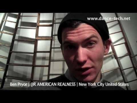 dance-tech @ | @dance-tech AMERICAN REALNESS | Ben Pryor | NYC USA