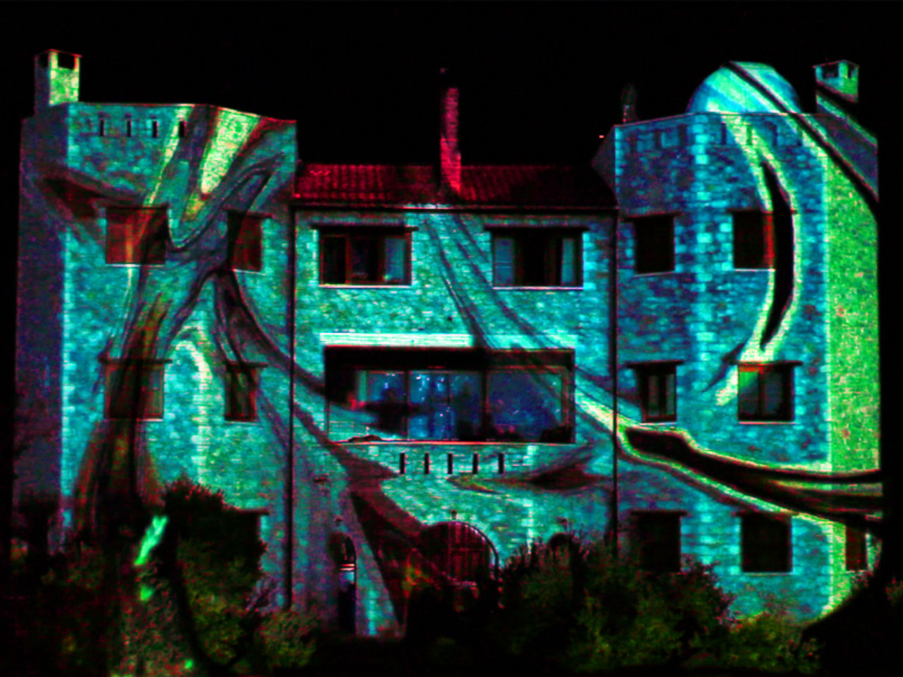 Videomapping Performance | Koumaria NewMediaArt (Greece) 2011