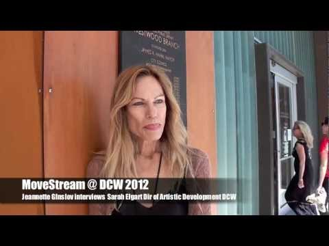 MoveStream @ DCW 2012 Sarah Elgart Dir of Artistic Dev