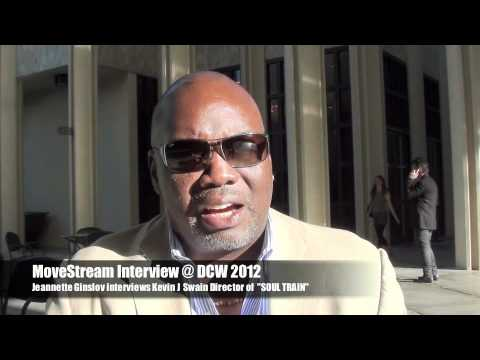 """MoveStream @ DCW 2012 J Kevin Swain Director of """"Soul Train"""""""