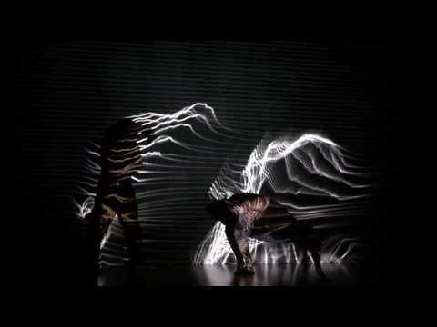 flow 1 | kinect projection dance