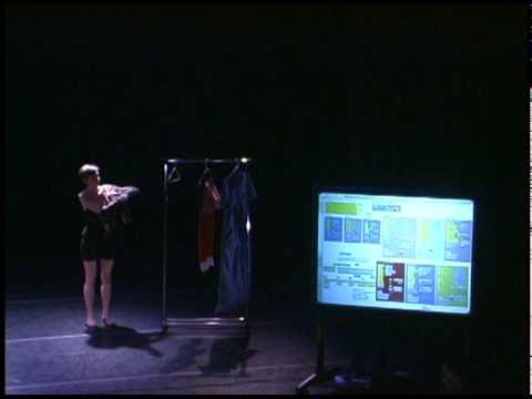 Julie Cruse performing Choreobot (VICKI) (part 1)