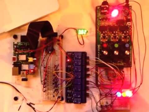 Raspberry Pi Linux Computer & The Nova Drone Sound & Light Synthesizer: Mixed meter application for…