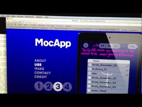 MocApp: motion capture in smart devices