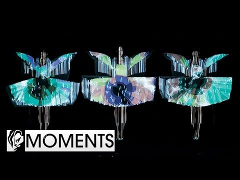 Cannes Moments: Perfume's Amazing Digital Light Show at Cannes Lions