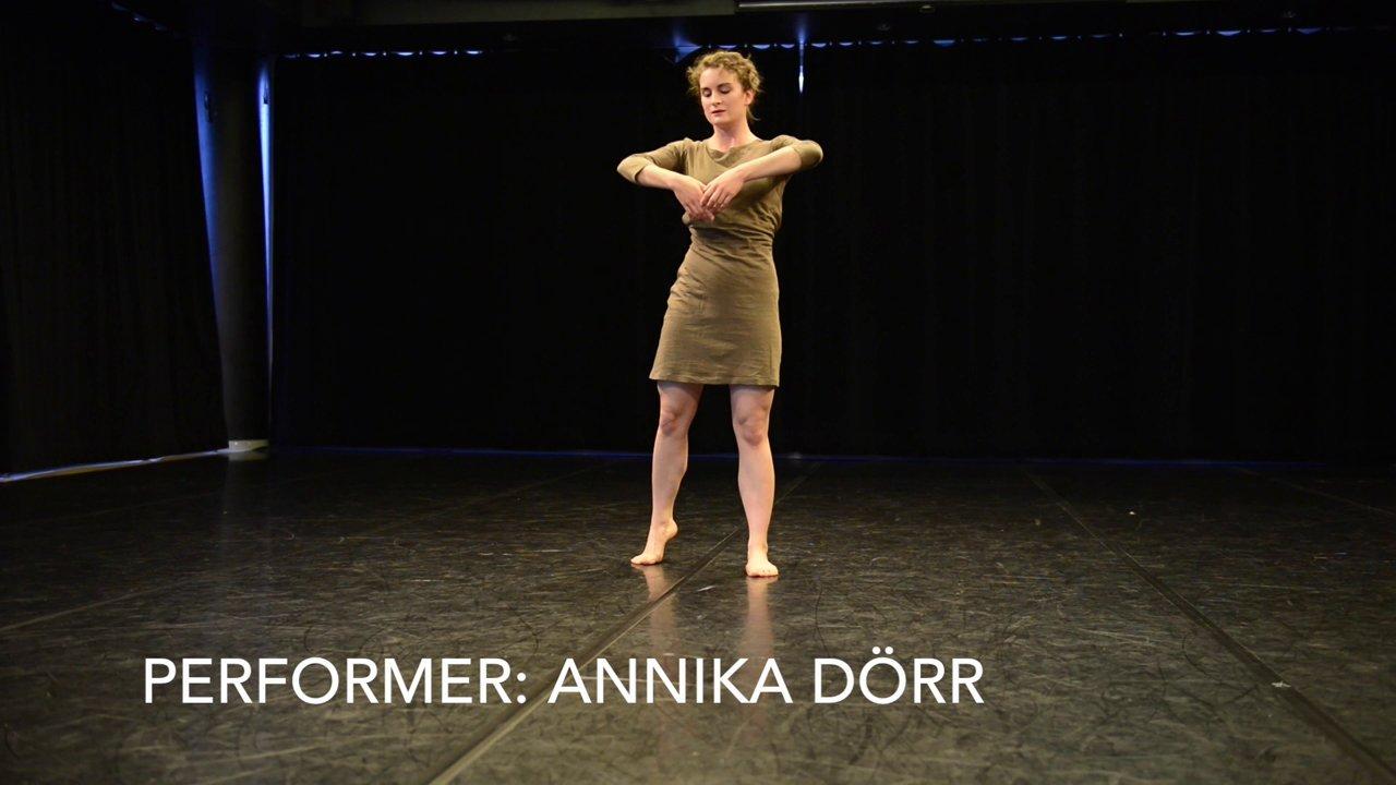 Jeu de modes - interactive dance for three performers, excerpts