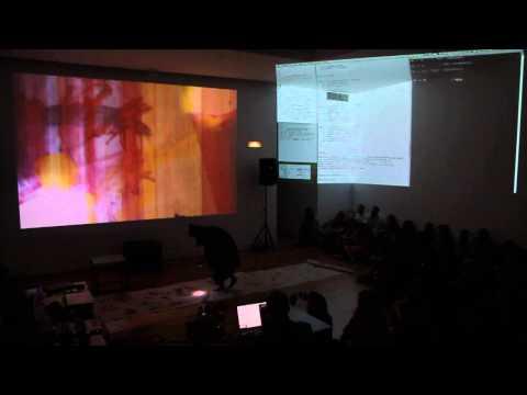 Workshop_Live Coding to Live Cinema w/ Julio d'Escrivan