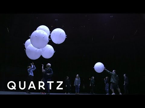 Drones you can dance with