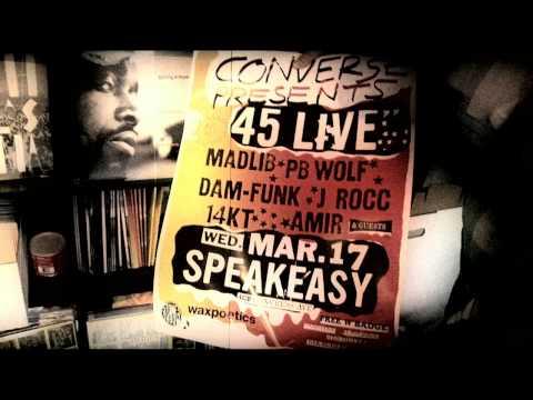 Converse Presents 45 Live @ SXSW: Stones Throw x Wax Poetics