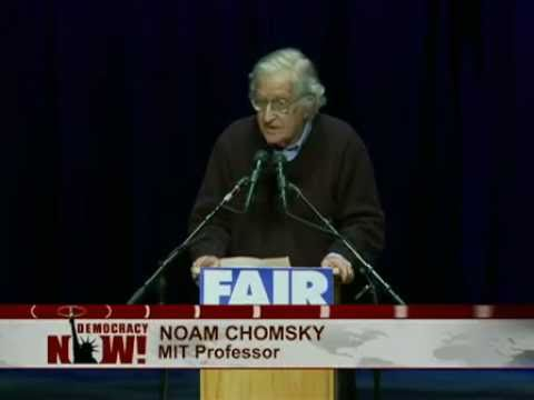 """Noam Chomsky Speech: The U.S. & Its Allies Will Do Anything to Prevent Democracy in the Arab World"""""""