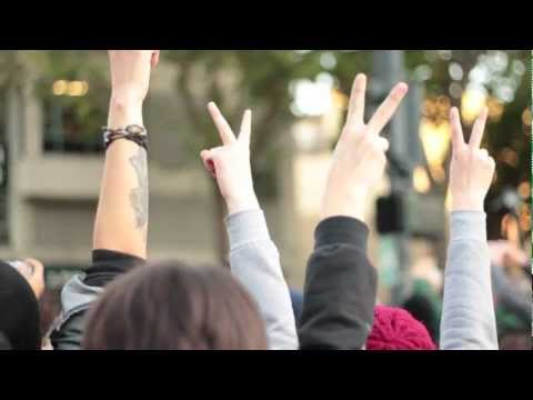 Occupy Oakland - Rally, March & THEN TEAR GAS!!! (10/25/11)