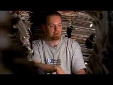 DJ Shadow featured in the movie Scratch (2002)