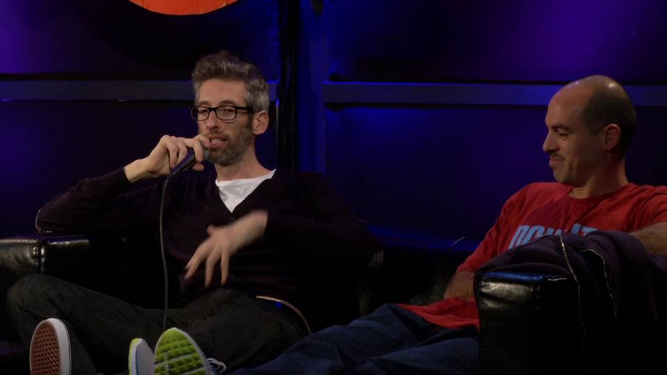 Lecture: Stretch and Bobbito (San Francisco, 2012)