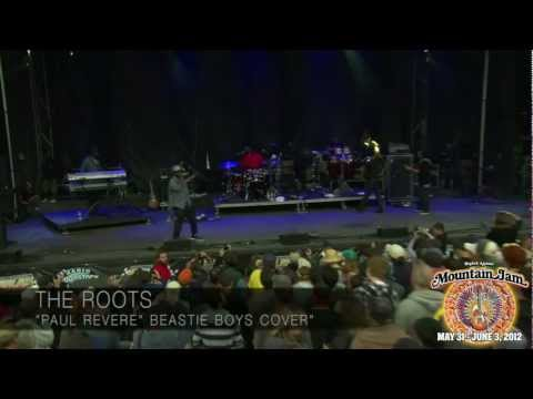 "The Roots - ""Paul Revere"" (Beastie Boys cover) - Mountain Jam VIII - 6/1/12"