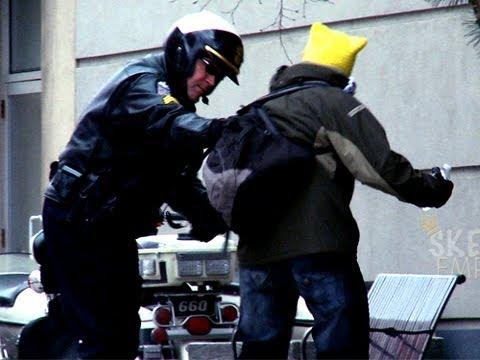 Cops Get Owned!!! - Epic Pee Prank