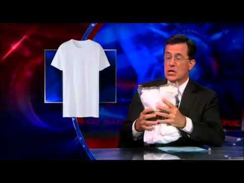 """Kanye West's """"Hip Hop T-Shirt"""" - The Colbert Report 07/24/13"""