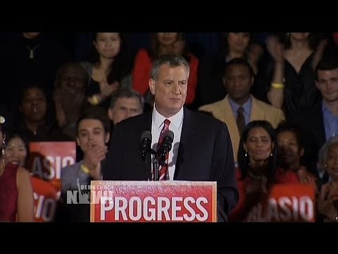 """""""We Are Living in the World Occupy Made"""": New York City Voters Elect Mayor Who Vows to Tax the Rich"""