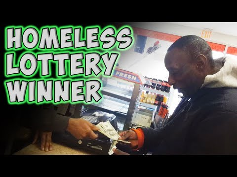 Homeless Man 'Wins' Lottery And The First Thing He Wants To Do Is Share The Money With Others