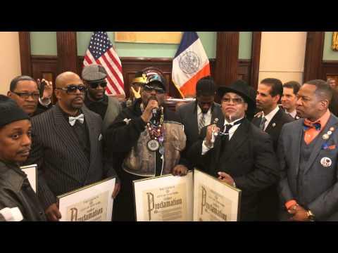 Afrika Bambaataa Speech At City Hall