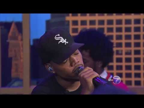 """Chance The Rapper performs """"Paranoia"""" on Windy City LIVE!"""