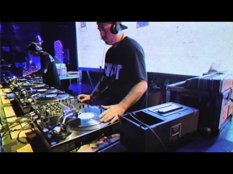 Watch DJ Shadow & Cut Chemist Playing Afrika Bambaataa's Records in Oakland