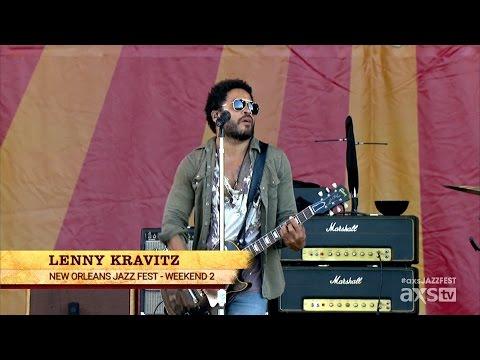 Lenny Kravitz (Trombone Shorty, Cindy Blackman Santana) - New Orleans Jazz & Heritage Festival 2015