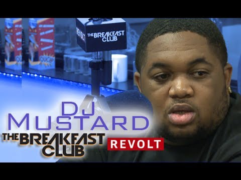 DJ Mustard Interview at The Breakfast Club Power 105.1 (5/14/2014)