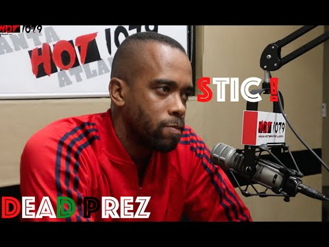 STIC of Dead Prez breaks down Let's Get Free, Social Media Addiction, RBG Fit Club