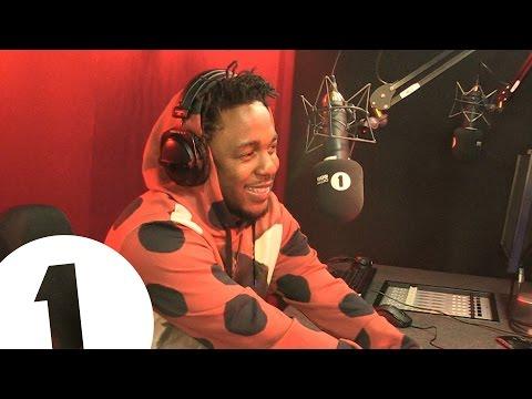 Kendrick Lamar Interview with BBC Radio 1′s Annie Mac