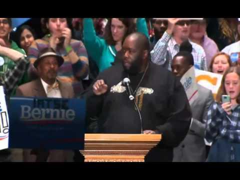 Killer Mike Gives A Powerful Speech At Bernie Sanders Rally In Atlanta Nov.23rd 2015