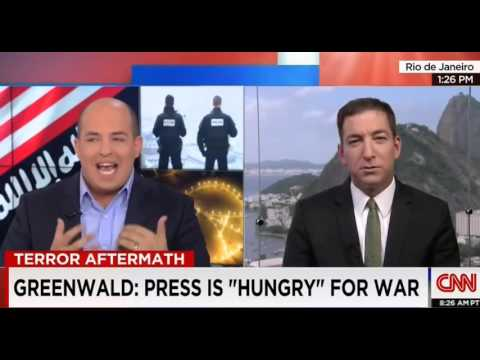 Greenwald Goes After CNN's Coverage Of Paris Attacks While On CNN